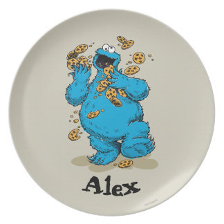 Cookie Monster Crazy Cookies | Add Your Name Plates
