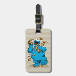Cookie Monster Crazy Cookies Bag Tag