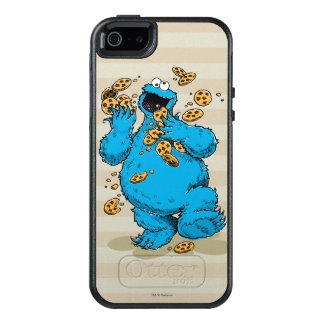 Cookie Monster Crazy Cookies OtterBox iPhone 5/5s/SE Case