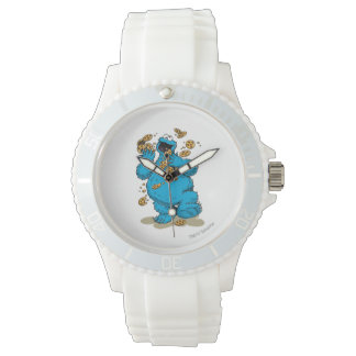 Cookie Monster Crazy Cookies Wristwatch