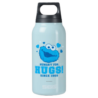 Cookie Monster Distressed Insulated Water Bottle