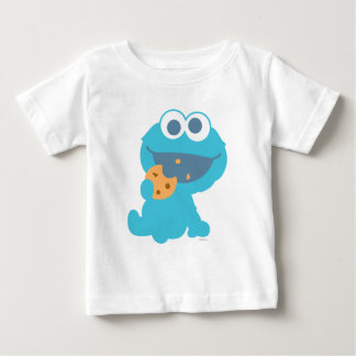 Cookie Monster Eating Cookie Infant T-Shirt