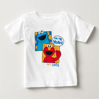 Cookie Monster & Elmo | Ha Ha Yeah Baby T-Shirt