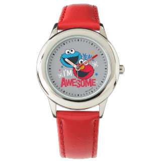 Cookie Monster & Elmo | Yeah, I'm Awesome Wristwatch