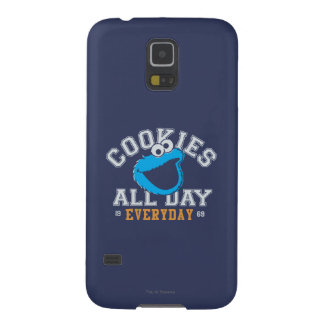 Cookie Monster Everyday Galaxy S5 Covers