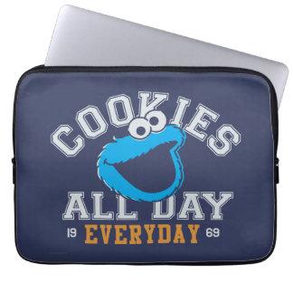 Cookie Monster Everyday Laptop Sleeve