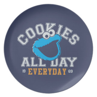 Cookie Monster Everyday Plate