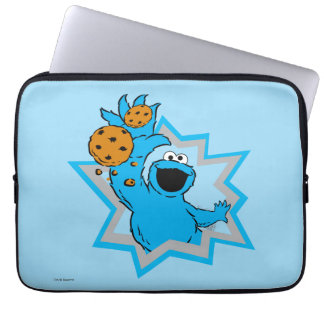 Cookie Monster Extreme Laptop Sleeve