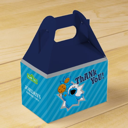 Cookie Monster Extreme Party Favour Box