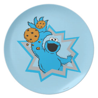Cookie Monster Extreme Plate