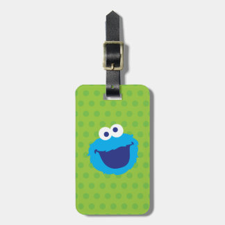 Cookie Monster Face 2 Luggage Tag