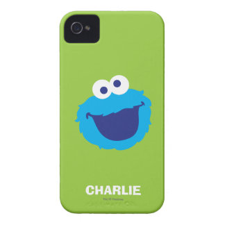 Cookie Monster Face | Add Your Name iPhone 4 Covers