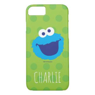 Cookie Monster Face | Add Your Name iPhone 8/7 Case