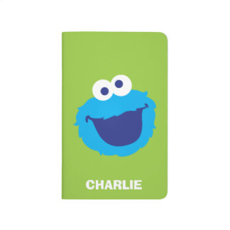 Cookie Monster Face | Add Your Name Journal