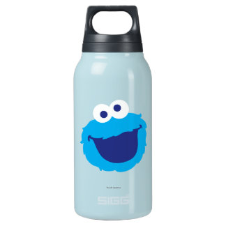 Cookie Monster Face Insulated Water Bottle