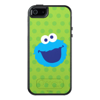 Cookie Monster Face OtterBox iPhone 5/5s/SE Case