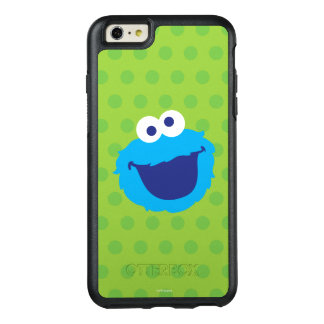 Cookie Monster Face OtterBox iPhone 6/6s Plus Case