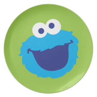 Cookie Monster Face Plate