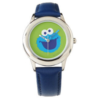 Cookie Monster Face Watch