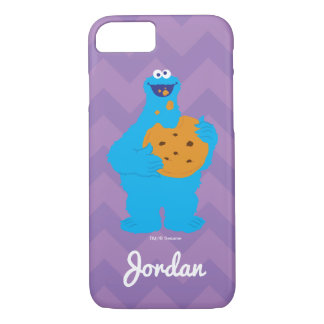 Cookie Monster Graphic | Add Your Name iPhone 8/7 Case