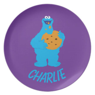 Cookie Monster Graphic | Add Your Name Plate