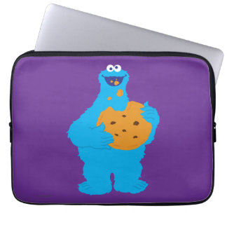 Cookie Monster Graphic Laptop Sleeve