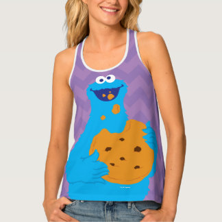 Cookie Monster Graphic Tank Top