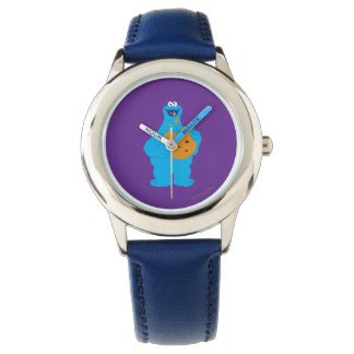 Cookie Monster Graphic Wristwatch