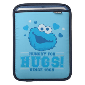 Cookie Monster Hugs iPad Sleeve