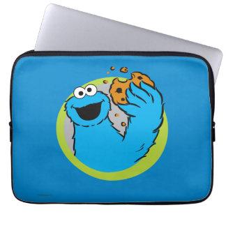 Cookie Monster Image Laptop Sleeve
