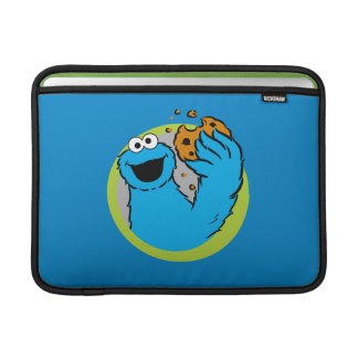 Cookie Monster Image MacBook Sleeve