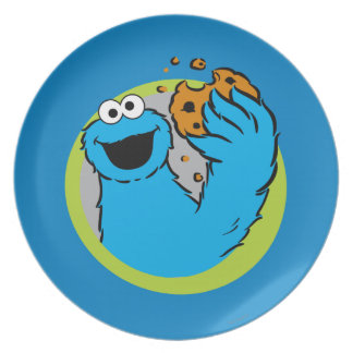 Cookie Monster Image Plate