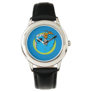 Cookie Monster Image Wristwatches