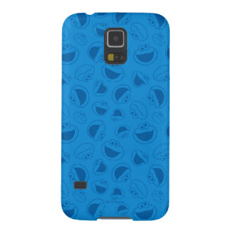 Cookie Monster   Me Awesome Blue Pattern Case For Galaxy S5