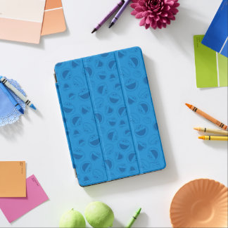 Cookie Monster | Me Awesome Blue Pattern iPad Air Cover