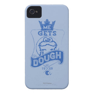 Cookie Monster Me Gets Dough Case-Mate iPhone 4 Cases