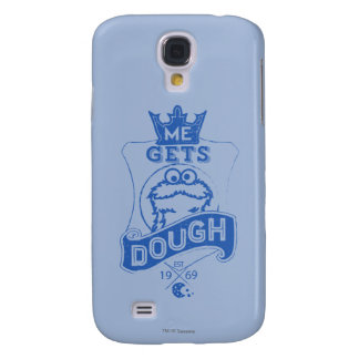 Cookie Monster Me Gets Dough Galaxy S4 Case