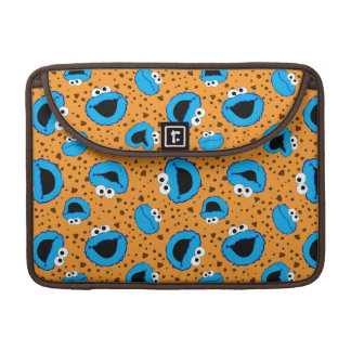 Cookie Monster on Cookie Pattern Sleeve For MacBook Pro