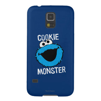 Cookie Monster Pattern Face Galaxy S5 Cases