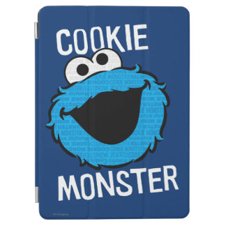 Cookie Monster Pattern Face iPad Air Cover