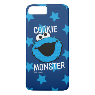 Cookie Monster Pattern Face iPhone 8 Plus/7 Plus Case