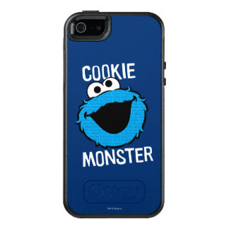 Cookie Monster Pattern Face OtterBox iPhone 5/5s/SE Case