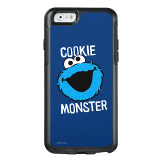 Cookie Monster Pattern Face OtterBox iPhone 6/6s Case