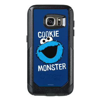 Cookie Monster Pattern Face OtterBox Samsung Galaxy S7 Case