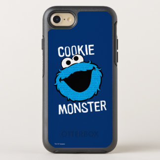 Cookie Monster Pattern Face OtterBox Symmetry iPhone 7 Case