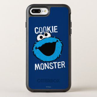 Cookie Monster Pattern Face OtterBox Symmetry iPhone 8 Plus/7 Plus Case