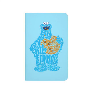 Cookie Monster Pattern Fill Journal