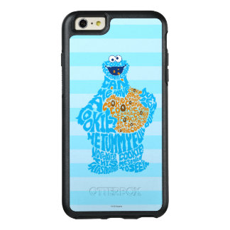 Cookie Monster Pattern Fill OtterBox iPhone 6/6s Plus Case