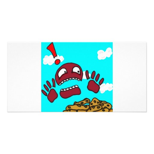 Cookie Monster Personalized Photo Card