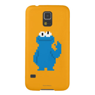 Cookie Monster Pixel Art Galaxy S5 Cover